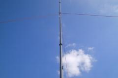 LHKA an GFK Mast